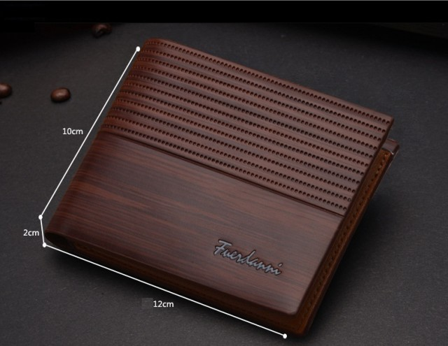 WA41B PU Leather Wallet for Men
