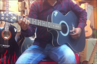Signature Acoustic Guitar indian