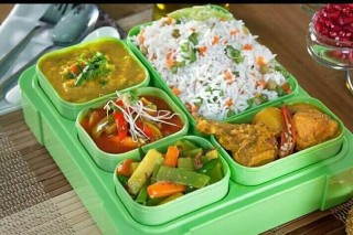 Corporate lunch box