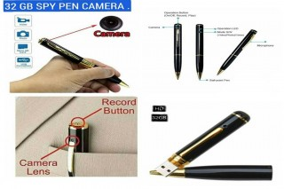 TF Spy Camera Pen 32 GB Supported