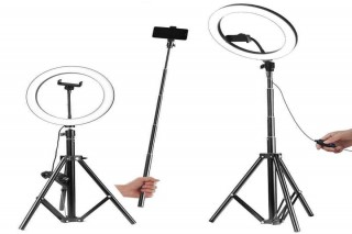 LED Ring Light with Stand for Smartphone
