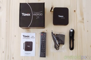 TX6 Android Smart TV Box