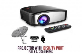 Tv projector 160 inch size,with free screen